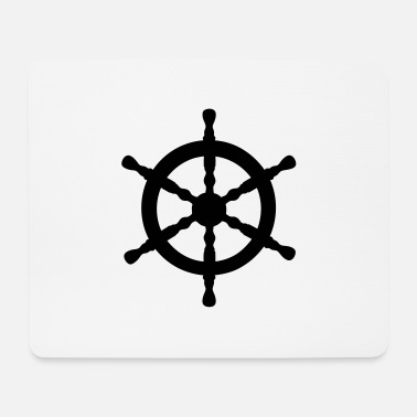 Nautical Nautical Wheel - Mouse Pad