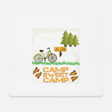 Camping Camp - Camp sweet camp - Mouse Pad