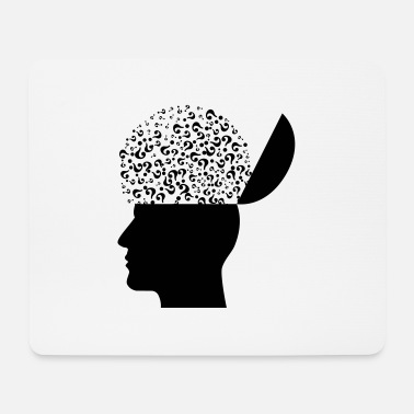 Thoughts head - Mouse Pad