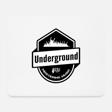 Underground Underground - Mastering Music - Clubbing Music - Tappetino per mouse (orizzontale)