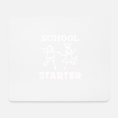 School Beginner School start, Beginner - Mouse Pad