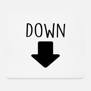 Down With Detroit down - Mouse Pad