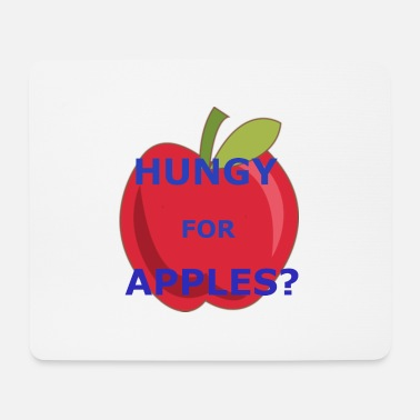Rick hungy for apples - Mousepad