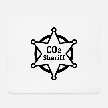 Co2 co2 sheriff - Mouse Pad