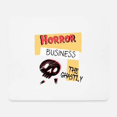 Ghastly Horror Business Halloween - Mouse Pad