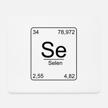 Element Selen, Periodensystem, Chemie, Physik, Element, Pe - Mousepad