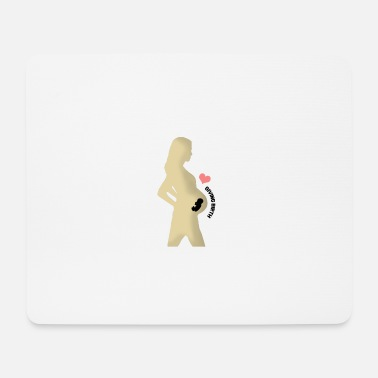 Birth baby belly and birth - baby belly and birth - Mouse Pad