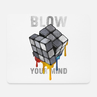 Rubik's Cube Blow Your Mind - Muismat