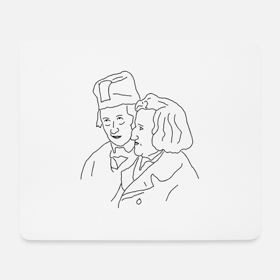 Grimm Mouse Pads - Brothers Grimm - Mouse Pad white