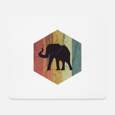 Tusk Elephant tusked animal circus africa gift idea - Mouse Pad