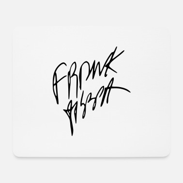 Frank Frank Zappa autograph - Mouse Pad