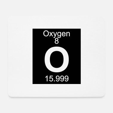 Periodic Table Element 8 - o (oxygen) - Inverse (Full) - Musmatta