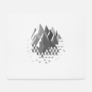 Winter mountains - Mouse Pad