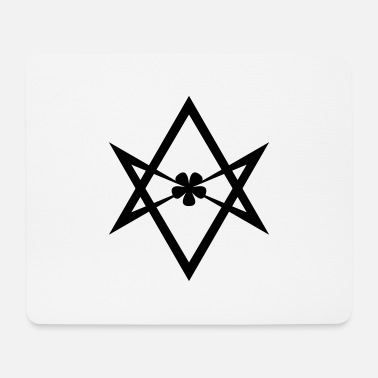 Kabbalah Unicursal hexagram, Golden Dawn, Kabbalah, Thelema - Mousepad