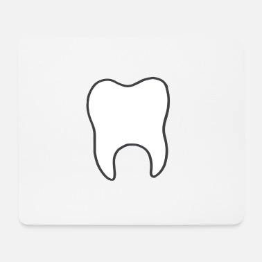 Tooth tooth - Mouse Pad
