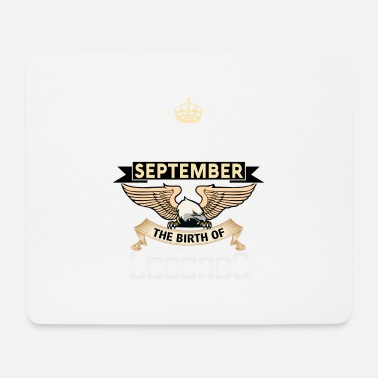 Born In September BORN IN SEPTEMBER - Mouse Pad