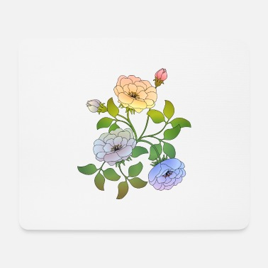 Rose Flowers - Mouse Pad