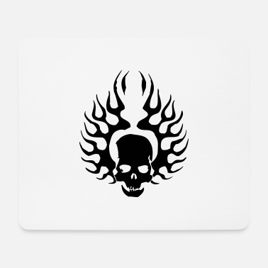 Burning Skull - Mouse Pad