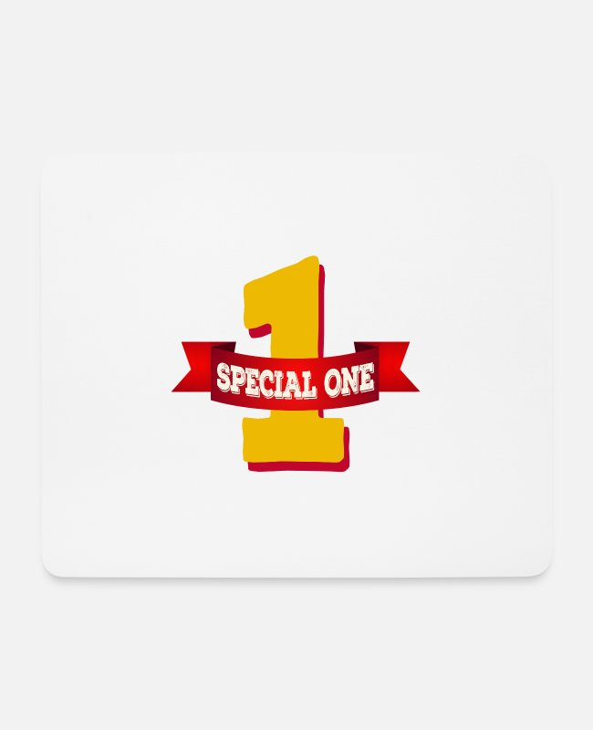 Special Forces Mouse Pads - Special One - The special number one - Mouse Pad white