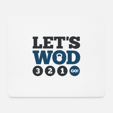 Wod Let's WOD - Mouse Pad