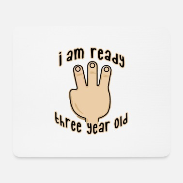 Production Year GP19B-THREE YEAR BABY PRODUCTS - for 3-year-olds - Mouse Pad