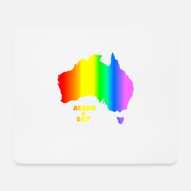 Aussie Rules GAY AUSSIE - Mouse Pad