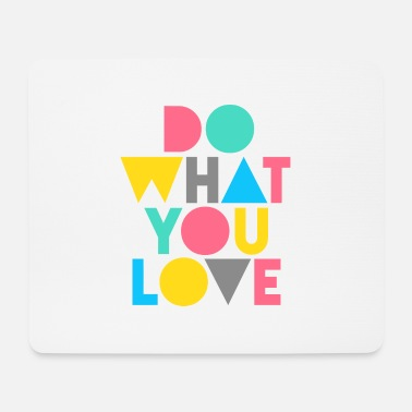 Love graphic - Mouse Pad (horizontal)