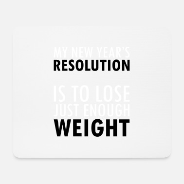 Resolution New Year's Resolution - Mouse Pad