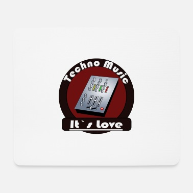 Techno Music Techno Music - Mouse Pad