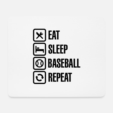 Softboll Eat, Sleep, Baseball / Softball, Repeat - Musmatta
