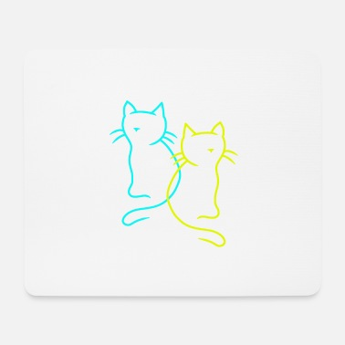 Chats Animaux Chats Chat - Tapis de souris