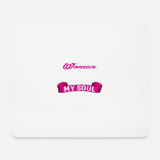 November Mouse Pads - NOVEMBER WOMAN - Mouse Pad white