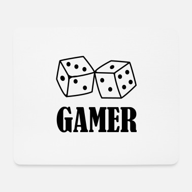 Chipleader wuerfel gamer - Mousepad