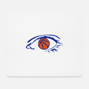 Ball eye eye eye basketball logo 224 - Mouse Pad