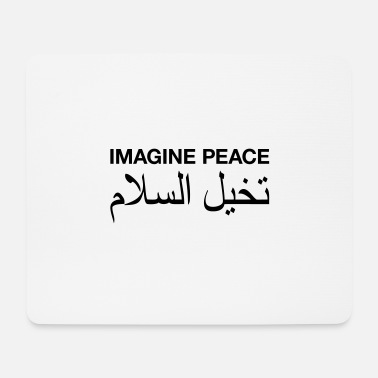 Imagine Peace - Mousepad