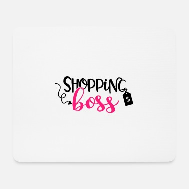 Shopping Shopping Boss Gift Shop Shopping - Mouse Pad