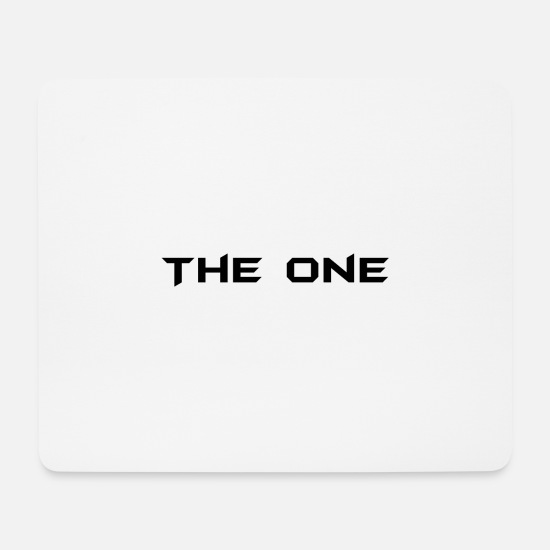 Birthday Mouse Pads - The One T-Shirt Best Modern Style Gift - Mouse Pad white