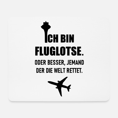 Air Traffic air Traffic Controller - Mouse Pad