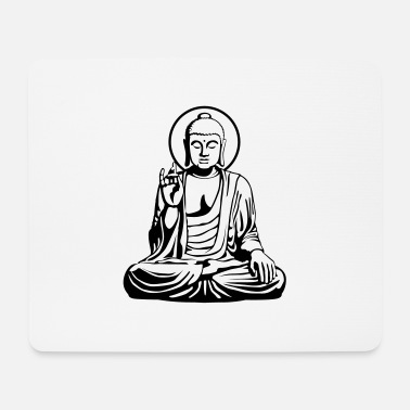 India Goa Trance Young Buddha No.1_2c - Mousepad