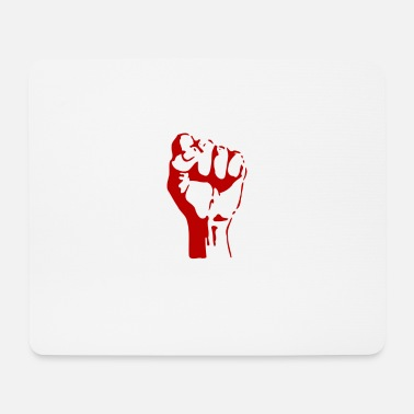 Guerilla Fight redFist - Mouse Pad