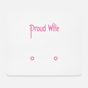 Partner Mechanic - Proud Wife - EN - Mouse Pad
