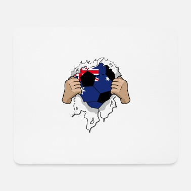 Quarterfinals Australia football gift - Mouse Pad