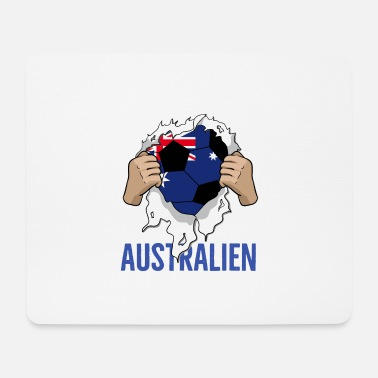 Quarterfinals Australia Football Gift Cool Fan - Mouse Pad