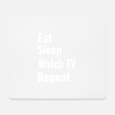 Watch Tv watch TV - Mouse Pad