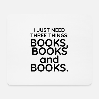 Book Books, books and books - Mouse Pad