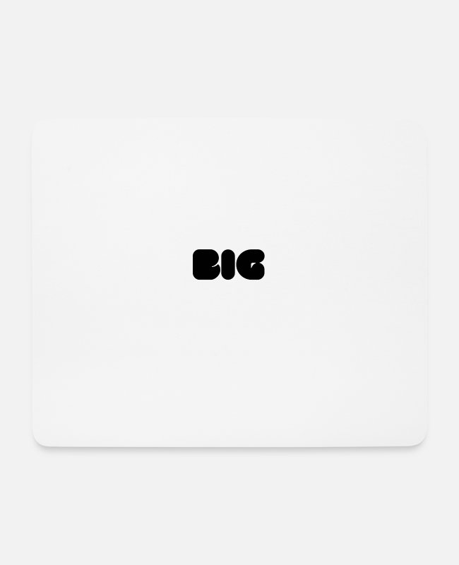 Big Mouse Pads - big - Mouse Pad white