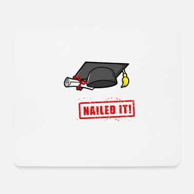 Pre School Graduation Pre-K - nailed it! Graduation Gift - Mouse Pad
