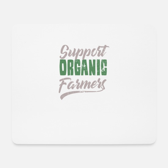 Christmas Mouse Pads - Farming Support your local Farmer Gift - Mouse Pad white