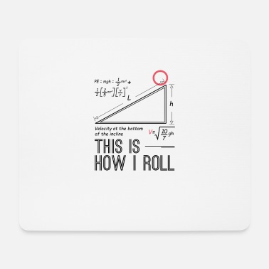 Funny physicist mathematician fun shirt gift - Mouse Pad