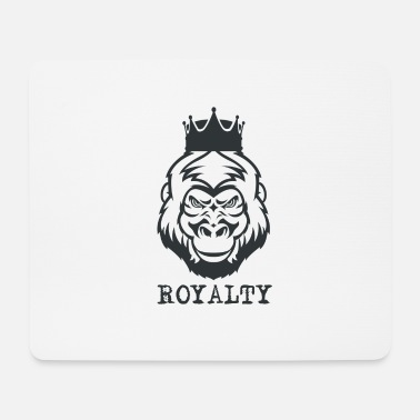 Royalty Gorilla - Royalty - Mouse Pad